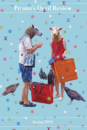 Alex Gross. Shopaholics.