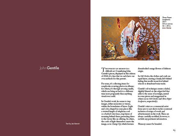Paintings by John Gentile